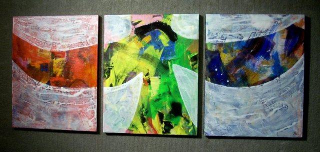 abz holy spirit triptych
